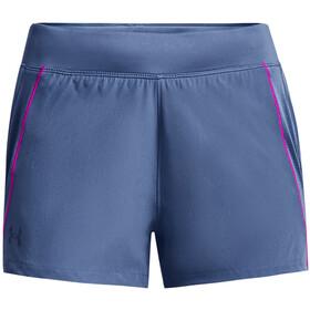 Under Armour Qualifier Speedpocket Shorts Women, grijs